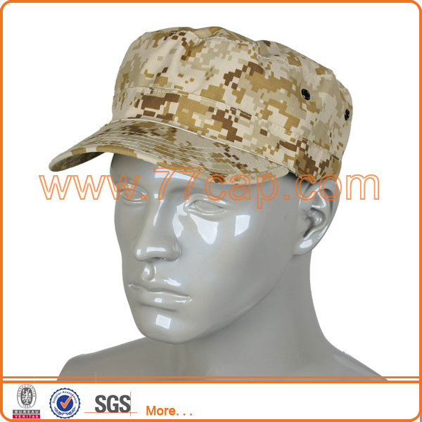 Women Man Camouflage Military Cadet Cap Army Hat Pattern