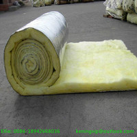 Fiber glass wool with Aluminium foil for metal steel building roofs insulation