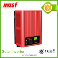 Single phase 2kw/3kw/4kw off grid and grid tie solar inverter with battery back up