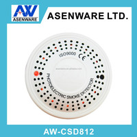 Conventional Fire Smoke Detector with Flash Light and Buzzer