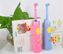 China online shopping OEM lovely cartoon baby musical sonic electric toothbrush