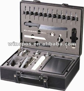 Bartender's Cocktail Kit, Bar set, premium bar set, lucury bar set