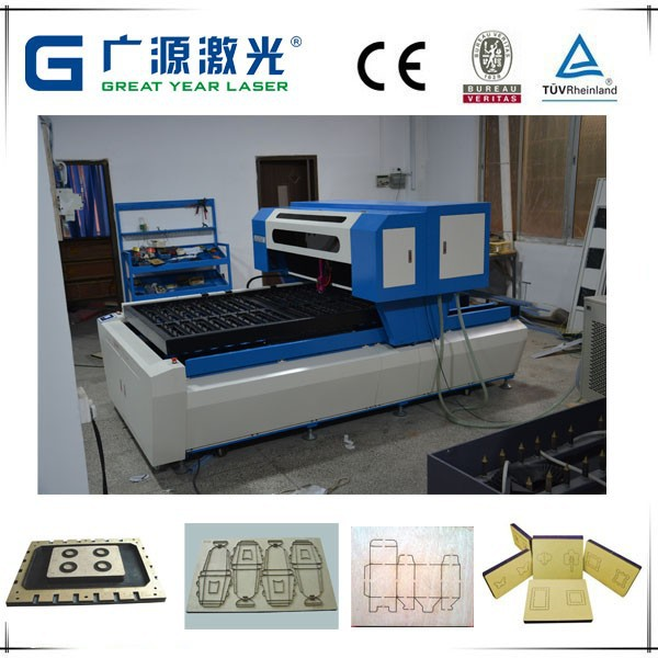 Alibaba recommend CO2 CNC laser cutter machine for production cardboard box mold plate