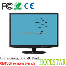 15.6 inch wide screen plastic cover of led tv monitor