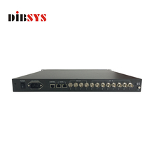 radio & tv broadcasting equipment 8 in 4 asi multiplexer and 32 video ip to ASI Converter