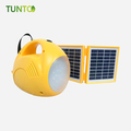 2.5w LED light solar system with 4500mah lead acid,1 year warranty