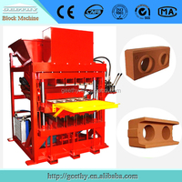 4Pcs /Time_______Eco 7000 Plus compressed earth interlocking block machine / clay brick making production line price