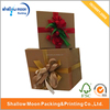 different size kraft paper gift packing box for christmas