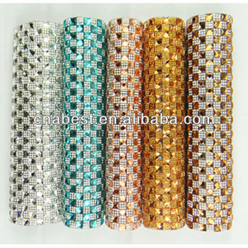 Fashion wholesale 24*40cm colorful rhinestones trimming to decorate clothing