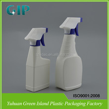 500ml laundry detergent pe bottle with trigger