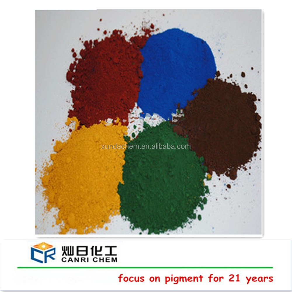 iron oxide for colorant bitumen/asphalt /pigment brown