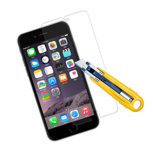 9H Hardness 0.3mm 2.5D Custom Made Tempered Glass Screen Protector For Apple Iphone 6s
