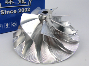 Rebuild Billet/MFS /Milled Aluminum Compressor Wheel K31 5333-123-2021 Fit Turbo 5331-970-7146 /5333-970-7102
