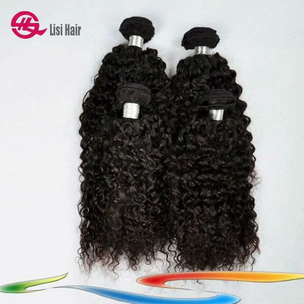 Sensational Exquisite Workmanship Wholesale 100% Natural Human malaysian kinky curly hair weave