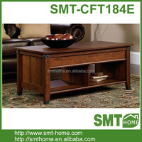 Antique European Style Wood Coffee Table Living Room Centre Table