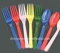 2015 plastic flatware, spoon fork and knife