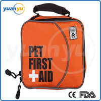 Discount Customize Pet First Aid Kit New Hot Sale Small Size Free Logo Pet Bag Dog First Aid Kit