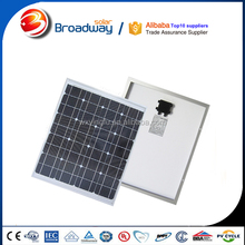 High quality mono small solar panel 30w 15w 12v solar panel raw material