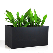 Fiberglass modern outdoor wholesale white planters and pots