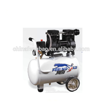 oilfree quiet portable air compressor