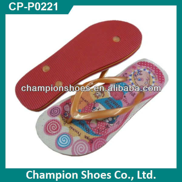 Fashion Child Nude Beach Slippers