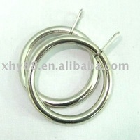 MR-008 28mm Nickel Metal curtain ring in curtain accessory