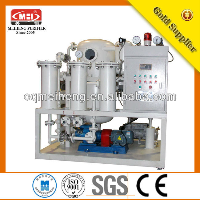 ZL High Efficiency Vacuum Switch Oil Purifier Manufacturer prices of water pumping machine