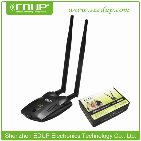 EDUP EP-MS1532 300Mbps 802.11N High Power Wireless USB Lan Desktop Laptop Keyboard Adapter