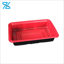 Customized Disposable Food Grade Fruit Vegetable Packaging Blister Plastic Pp Tray