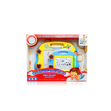 Small kids drawing toy plastic colorful magnetic writing board