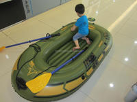 CE PVC chinese boat inflatable pontoon fishing boat