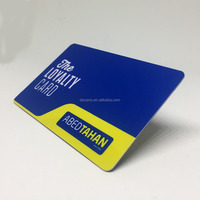 PVC Loyalty Barcode Card QR Code