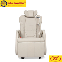 Electric recliner seat with massage and heater for mini bus VIP car JYJX-051