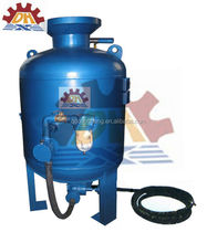 CE Manually Used Sandblasting Equipment/Sand Blasting Chamber For Sale with paint spray line