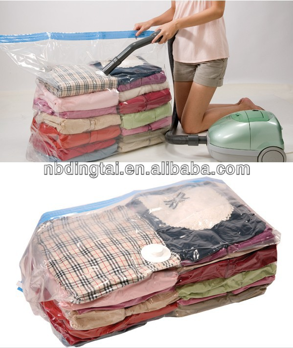 Clothing Cube Vacuum Seal Storage Bag