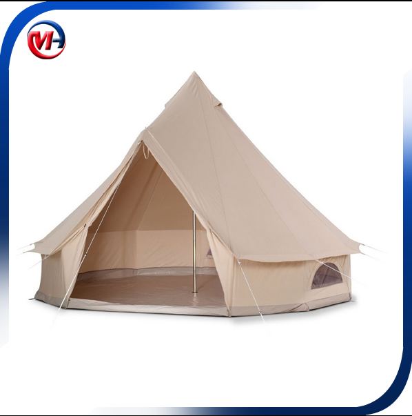 omantic comfortable outdoor canvas bell tent sale/outdoor canvas bell tent