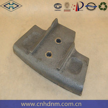 high quality hot sale high manganese concrete mixer truck spare parts