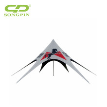 fashionable star shape party tent outdoor tent for event and exihibition