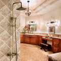 Antique bath&shower faucet set