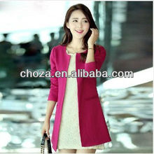 C20678A AUTUMN FASHION LADY WIND COAT SUIT
