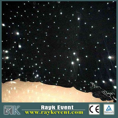 indoor low cost led cloth lights led net curtain ph80