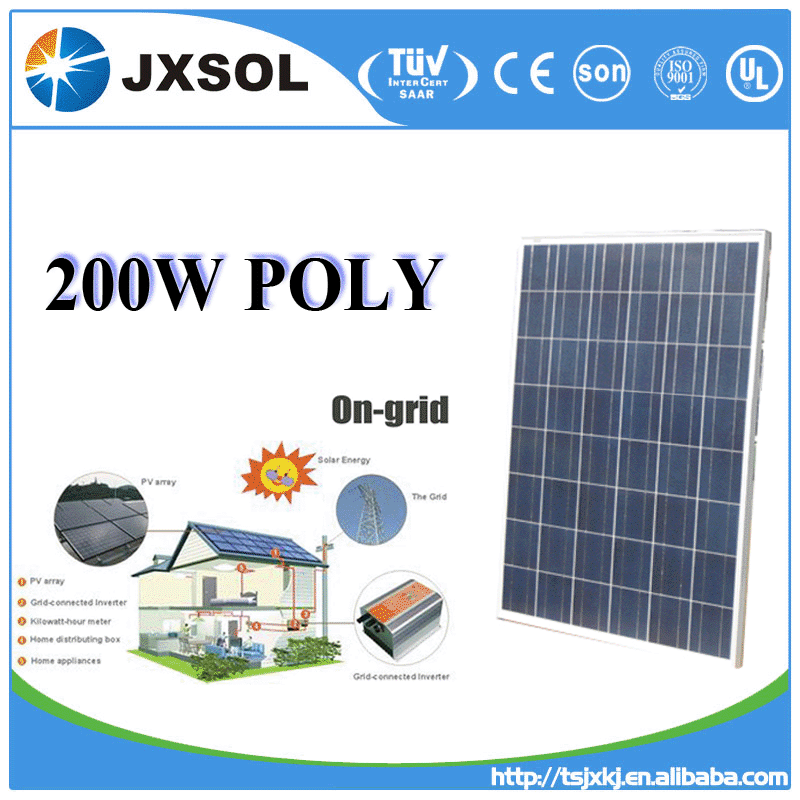 210w polycrystalline efficient China manufacture photovoltaic module