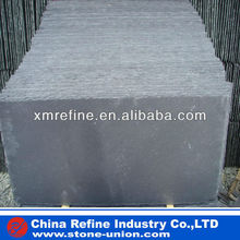 Natural black roofing slate tile