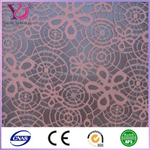 Spider web lace fabric based on mesh fabric for masked ball