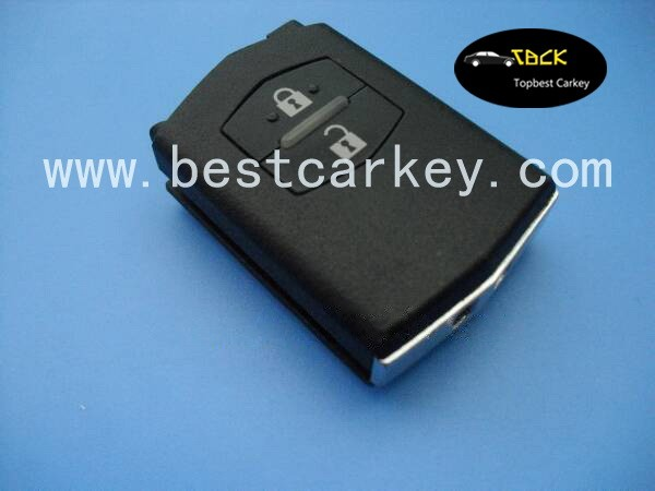 smart car key programming mazda 2-button remote key for Mazda 6 smart key 315mhz Maz24R blade