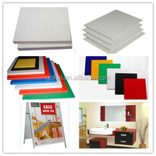 factory direct sale extrude foaming PVC sheets 10mm thickness