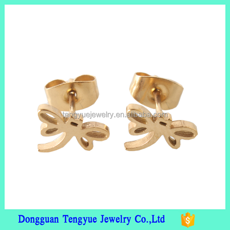 Stainless Steel Anodized Ear Ring, Women Elegant Earring, Magnetic Industrial Ear Piercing