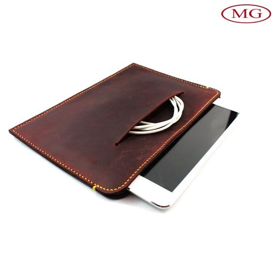 vintage leather universal tablet cover for ipad 6, case for ipad 6