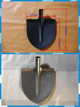 function of farm tools long nose round head spade shovel