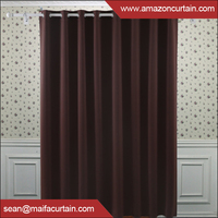 2016 Hot Sell window blackout curtain for Christmas designs